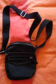 Umhänge- Handtasche schwarz u Umhängebeutel