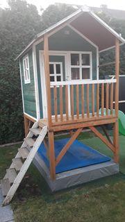 Kinder-Gartenhaus mit Tefal Spielküche und