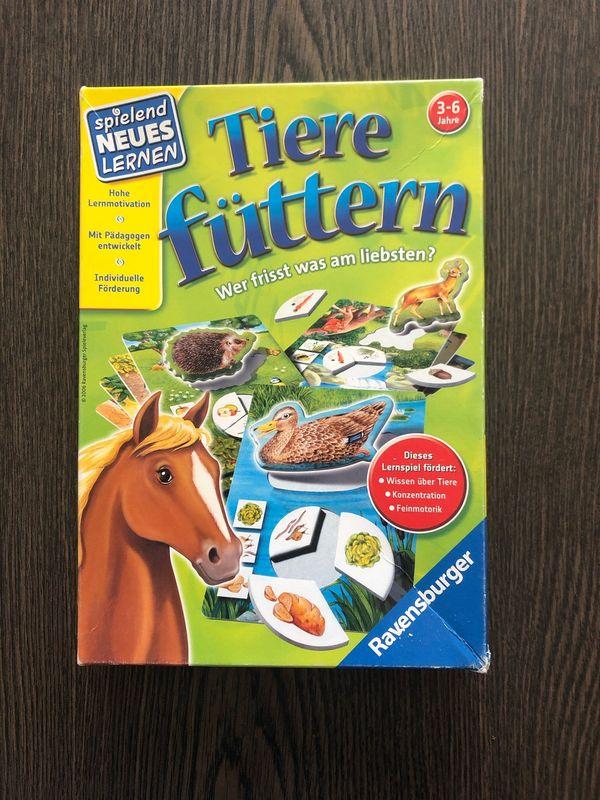 Ravensburger Spiel Tiere füttern