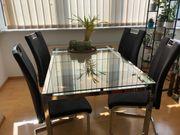 Esstisch Glastisch Küchentisch