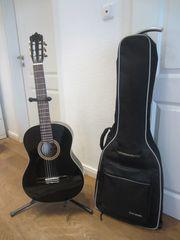 Konzertgitarre La Mancha Glacial black