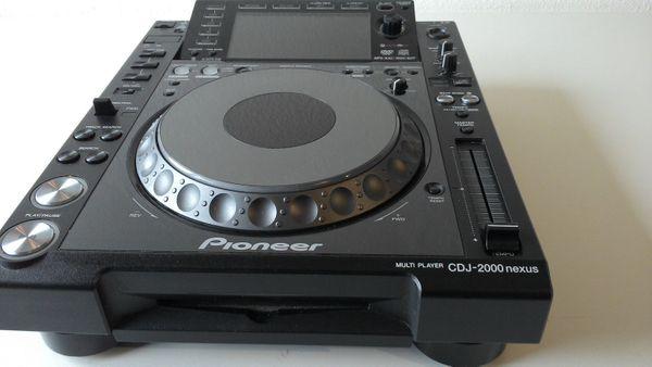 Pioneer CDJ 2000 Nexus gut