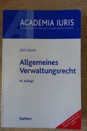 Jura Allgemeines Verwaltungsrecht Academia Iuris