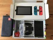 Nintendo swith wie neu mit