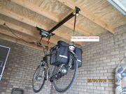 Elektrische Fahrradlift Deckenlift Fahrradaufzug
