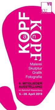 KUBA-Wasserburg am Bodensee Mitgliederausstellung KOPF