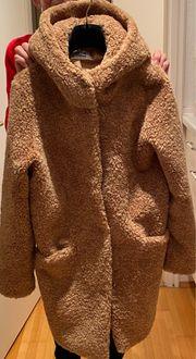 Edler Fake Fur Mantel von