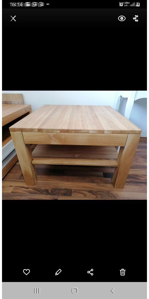 Couchtisch Massivholz stabil Tisch Wohnzimmertisch