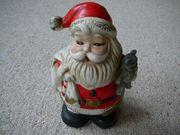 Verkaufe Spardose Weihnachtsmann Nikolaus mit