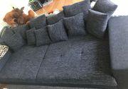 Big Sofa schwarz