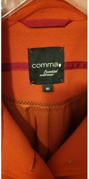 Damenkurzmantel orange comma Gr 40