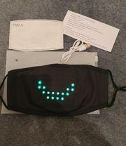 LED Mundschutz Maske