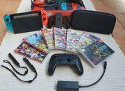 Nintendo Switch V2-Paket 7 Spiele