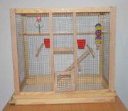 Vogelkäfig Vogel Wellensittiche Käfig aus