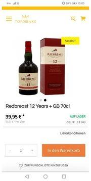 redbreast 0 7 l
