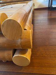 Doppelbettgestell 180 x 200 Bambus