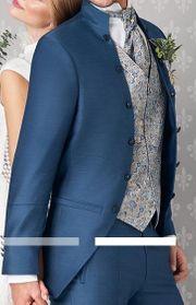 TZIACCO - Royaler Hochzeitsanzug TOP- Zustand