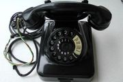 Wählscheiben-Telefon W48 gut erhalten