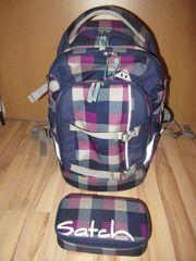 Satch Schulrucksack und Mäppchen in
