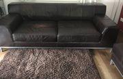 Ikea Kramfors Echt Leder Sofa