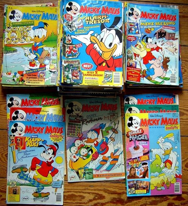 Dachbodenfund 79 Micky Maus Comic