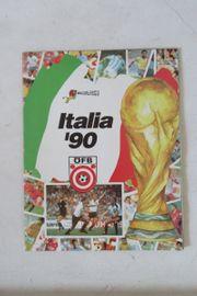 Stickerallbum Fußball WM 1990