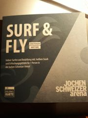 Indoor surfing Bodyflying Gutschein - Jochen