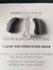 WIDEX CLEAR 440 C4-FS Hörgerät