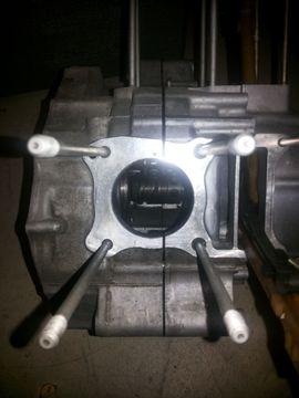 Motorrad-, Roller-Teile - Honda Shadow Varadero 125 Motor