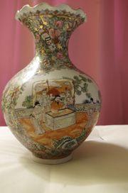 China Porzellan Vase Cloisonne Gold
