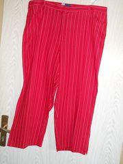 schicke rote Hose - Stiefelhose Gr