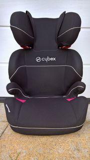 Kinderautositz Cybex Solution schwarz und