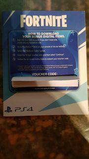 Fortnite PS4 Voucher Gutschein 500