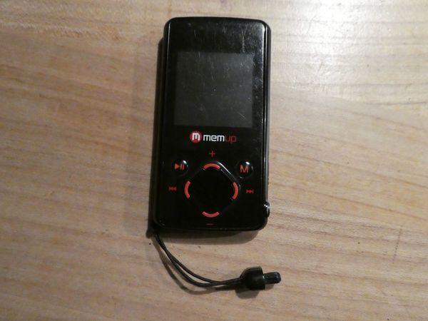 MemUp K-Mini Red 4GB MP3
