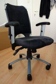 Verschenke verstellbaren Bürostuhl