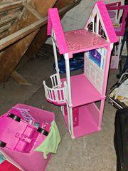 Prinzessinhaus puppenhaus barbie mit viel