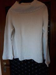 Winter-Pullover Gr XXL Weiß mit