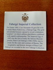 Faberge Imperial Czar Collection