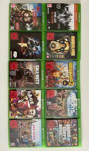 neuwertige Xbox one Spiele