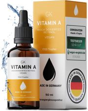 Vitamin A Tropfen neu