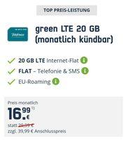 green LTE 20GB monatlich kündbar