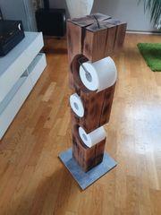 Toilettenpapierhalter Unikat