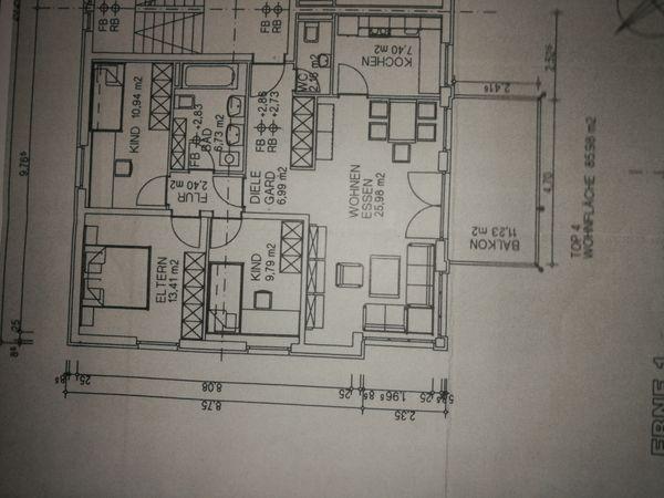 Schöne 4-Zimmer Wohnung in Nüziders