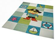 2 Kinderzimmer Teppiche Rund viereckig