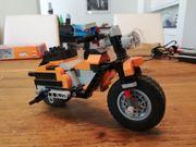 Motorrad Lego Creator 7291