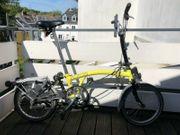 BROMPTON M3RD Folding Bike YELLOW