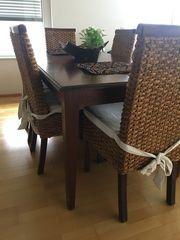 Esstisch mit 6 Stühlenf