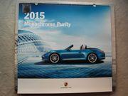 Porsche-Kalender 2015 mit Sammlermünze