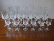 18 Crystal de Arques Gläser -