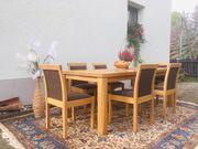 Hochwertiger Designer-Tisch mit Stühlen